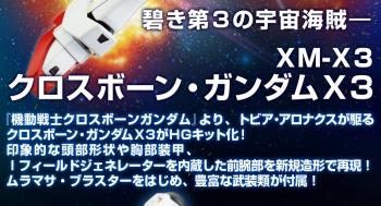 HGUC クロスボーン・ガンダム X3の商品説明画像 (6)