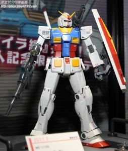 MG RX-78-02 ガンダム (GUNDAM THE ORIGIN 版) スペシャルエディション(仮) ガンプラEXPO ワールドツアージャパン 2016 WINTER06