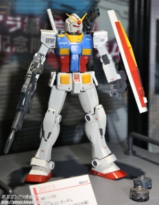 MG RX-78-02 ガンダム (GUNDAM THE ORIGIN 版) スペシャルエディション(仮) ガンプラEXPO ワールドツアージャパン 2016 WINTER05