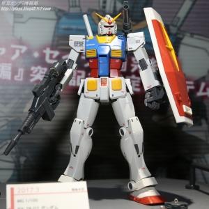 MG RX-78-02 ガンダム (GUNDAM THE ORIGIN 版) スペシャルエディション(仮) ガンプラEXPO ワールドツアージャパン 2016 WINTER03