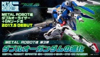 METAL ROBOT魂 ダブルオーライザー+GNソードIII 特集01