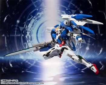 METAL ROBOT魂 ダブルオーライザー+GNソードIII (1)