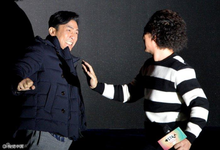 トニーさん@武漢発布会1