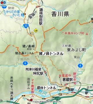 猪ノ鼻トンネル14