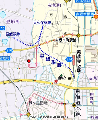 美濃赤坂駅10