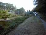 小畑川沿いの小道
