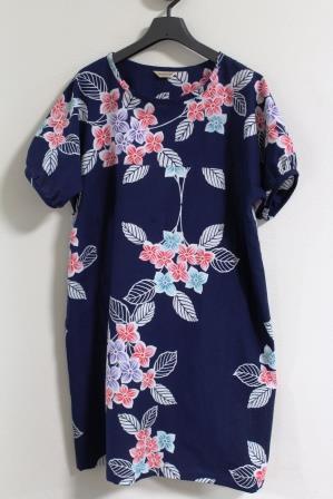 紫陽花浴衣チュニックOP