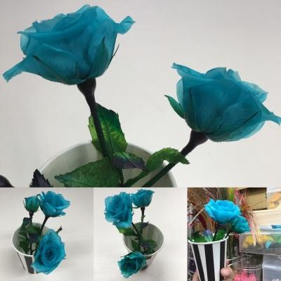 1本のバラに挑戦してみましょう。