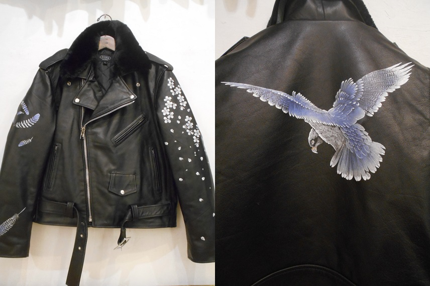 Hawk Leather Jacket