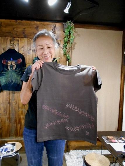 手描きTシャツ ワークショップ 2016