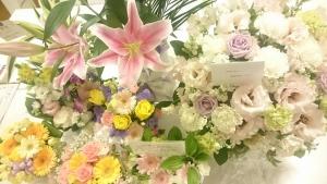 はなに届いたお花たち