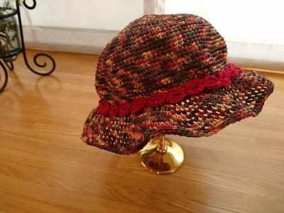 さきちゃんの帽子