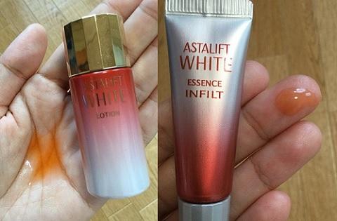 アスタリフトホワイトの化粧水・美容液