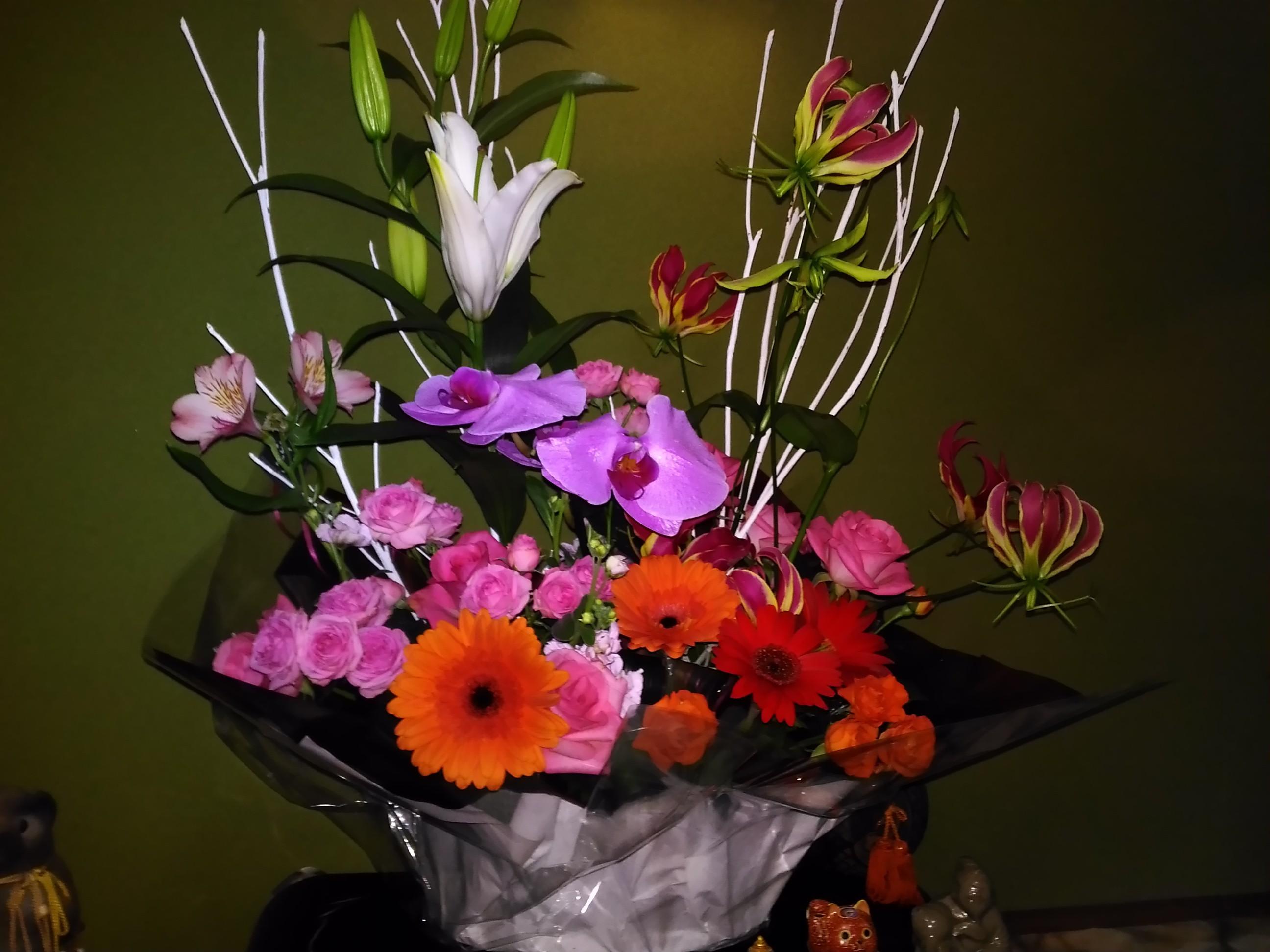 2周年お花