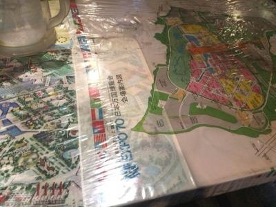 160222チャーハン専門店炒飯の万博テーブル