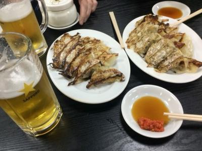 160303珉珉桜橋店ギョーザ半額125円