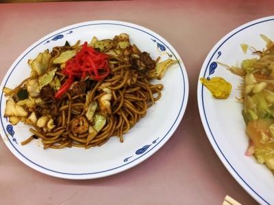 160402共平亭沙麺(ソウス焼そば)750円