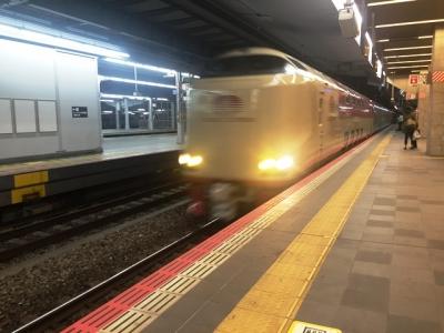 160425大阪0時34分発サンライズ出雲到着