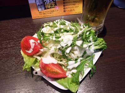 160429RED MOUNTAINサラダ食べ放題280円1回目