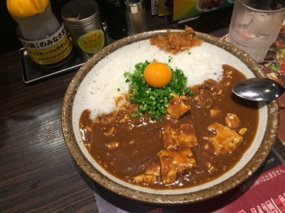 160511CoCo壱番屋中区矢場町店限定赤みそカレー802円