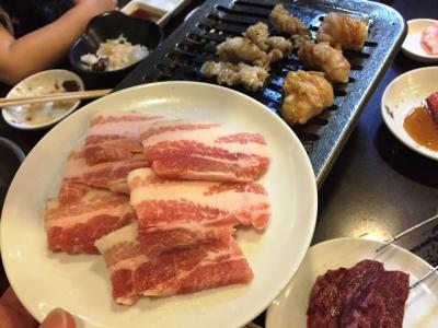 160611龍ノ巣梅田店本館豚バラ580円