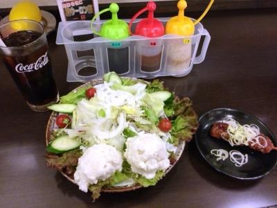 160621美濃路関店ポテトサラダ380円