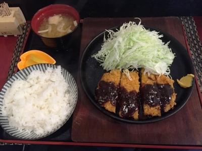 160624山忠名古屋駅西店みそかつ定食1458円