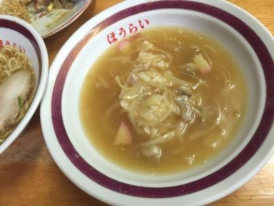 160828蓬莱中華丼セット700円中華丼