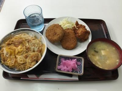 160816古味煮亭Bセット650円