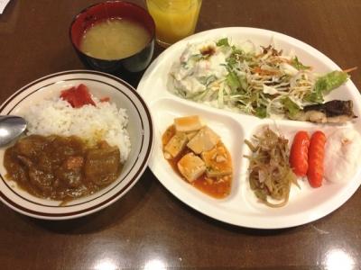 160915浜松ステーションホテル朝食カレー
