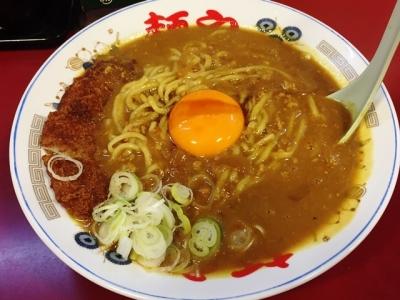 161024らー麺やカツカレーラーメン950円