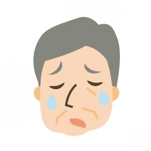 S先生の涙