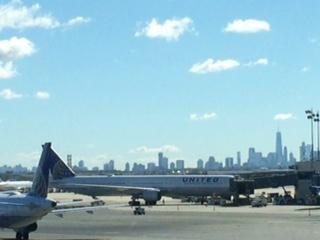 ⑤ニューアーク空港よりマンハッタン