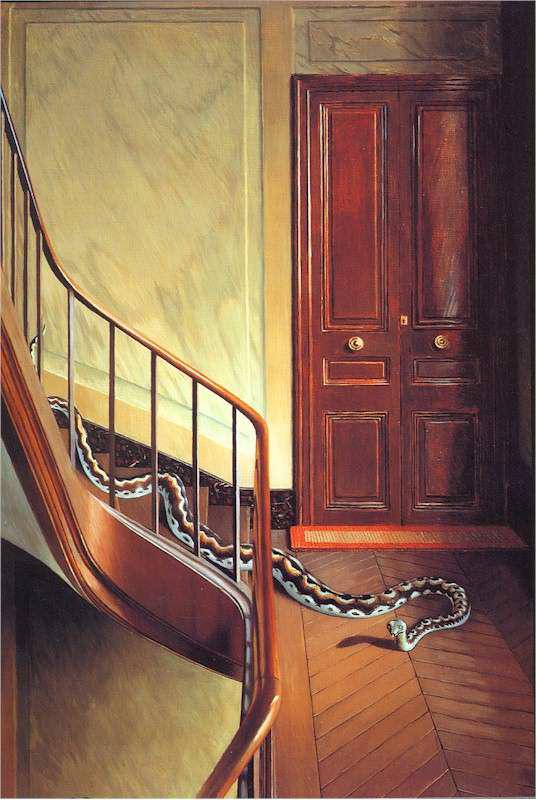 階段上の危険
