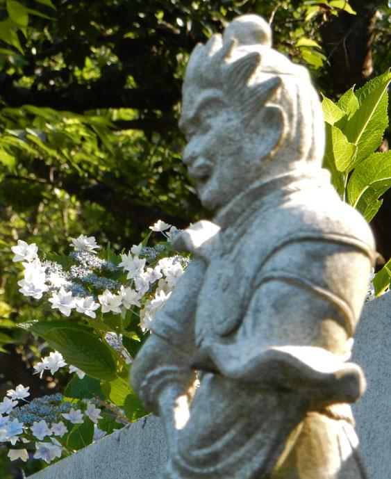 160618仏像とあじさい@妙音寺04
