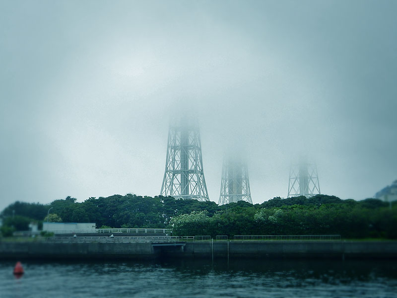 160702濃霧@久里浜港1