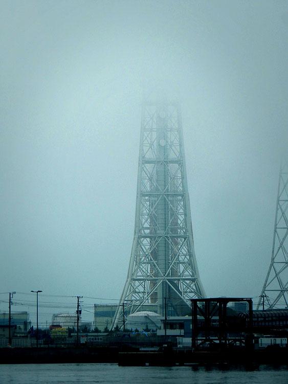 160702濃霧@久里浜港2