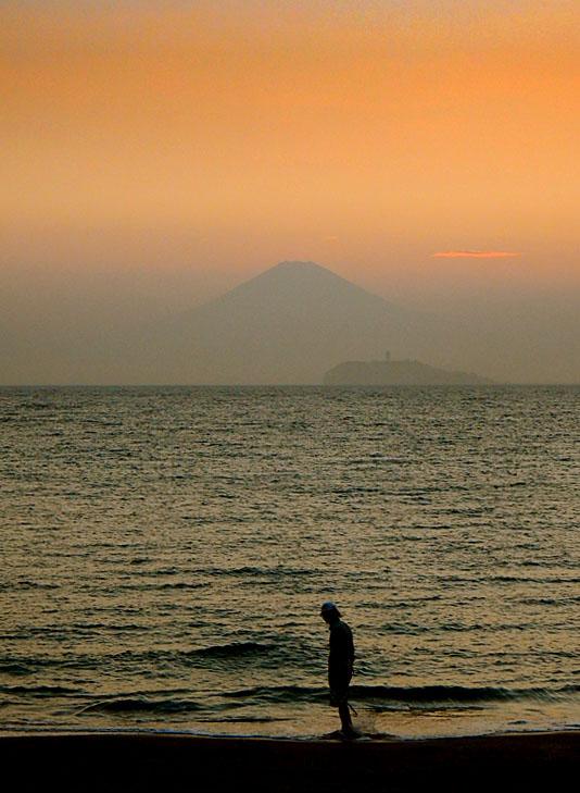 160706逗子海岸夕景7月1