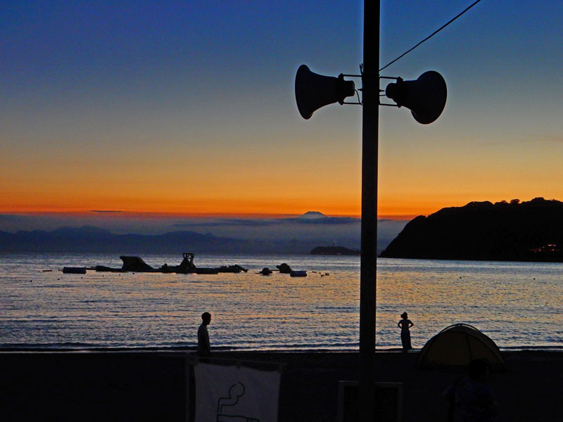 160729逗子海岸夕景3