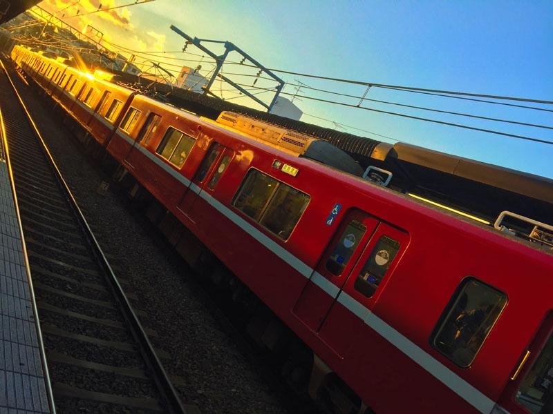 161103,赤い電車