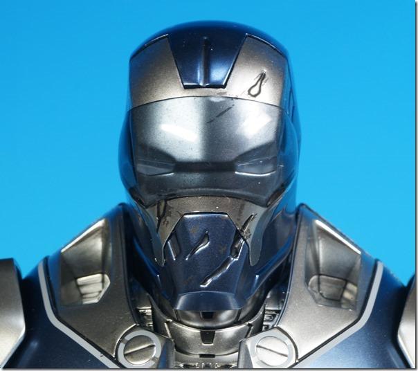 battle damaged mask