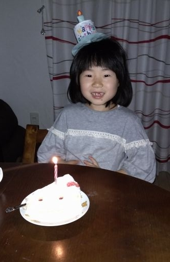 7さい誕生日ケーキ