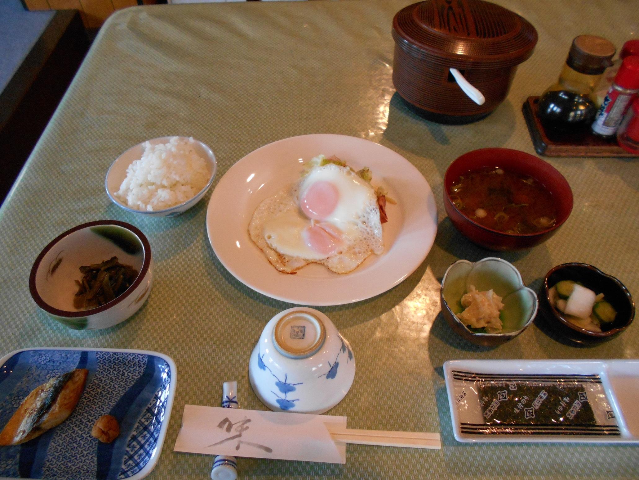 ⑫静山荘①朝食