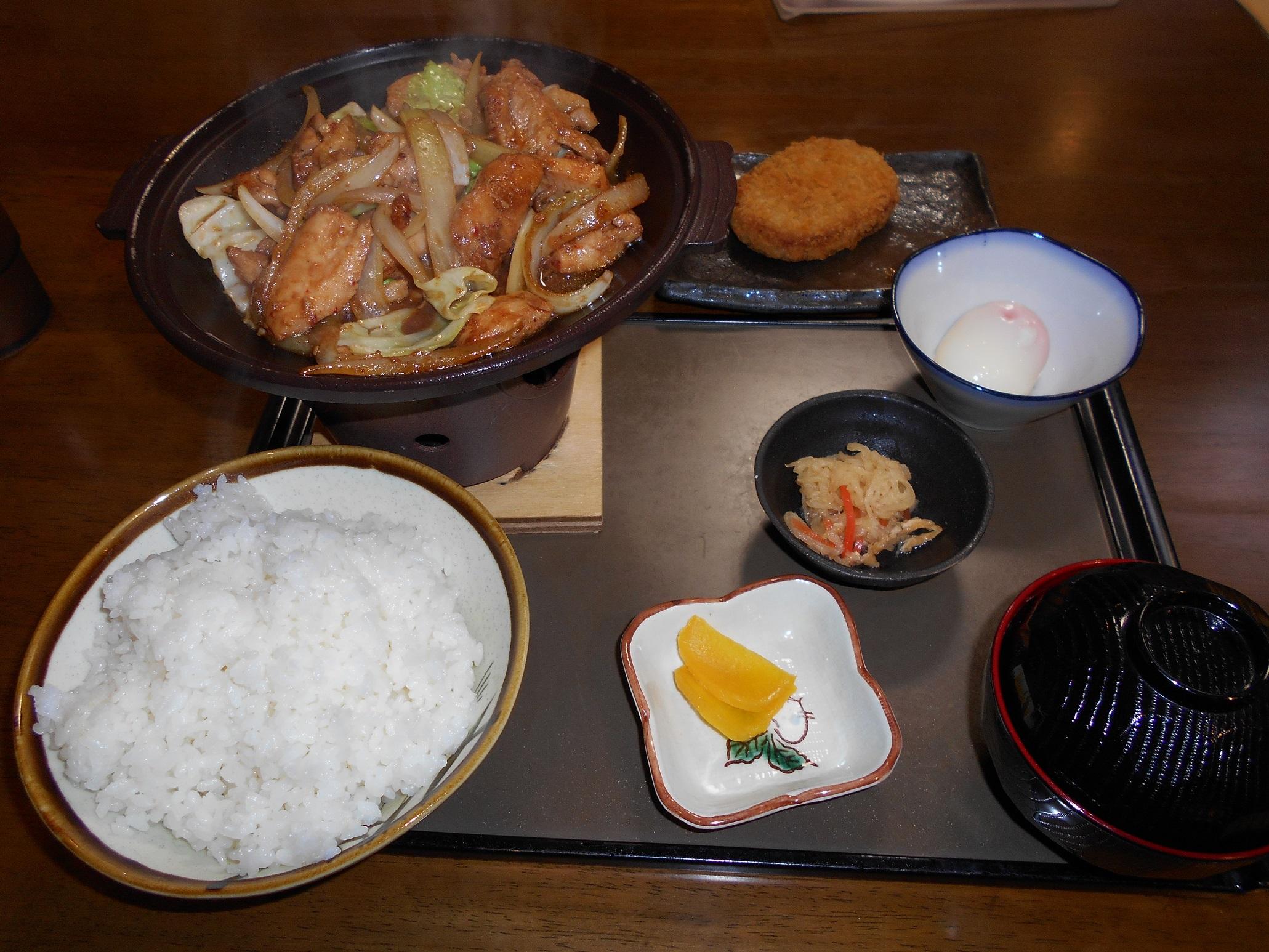 ⑱新穂高①晩飯