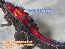 ムビモン シン・ゴジラ 電飾改造(加工方法)