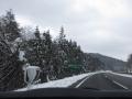 中国自動車道 雪
