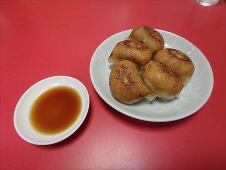 中華料理 太陽の焼き餃子