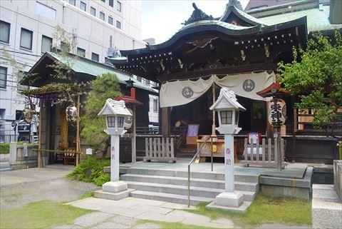 千束稲荷神社の全景