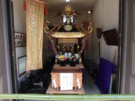 千束稲荷神社の神輿