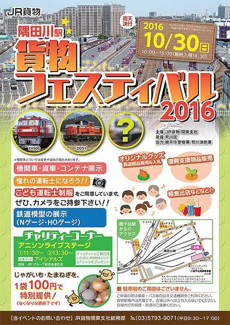 隅田川駅貨物フェスティバル